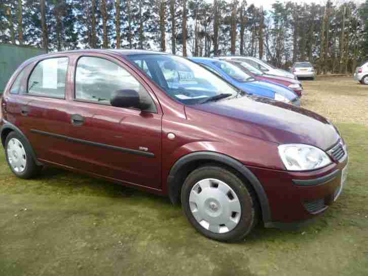 2005 vauxhall corsa life twinport red car for sale. Black Bedroom Furniture Sets. Home Design Ideas