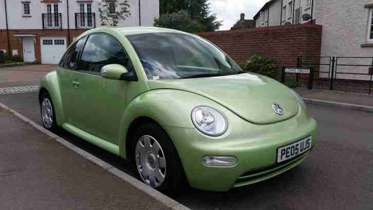2005 BEETLE 1.6 (1 YEAR MOT & NO
