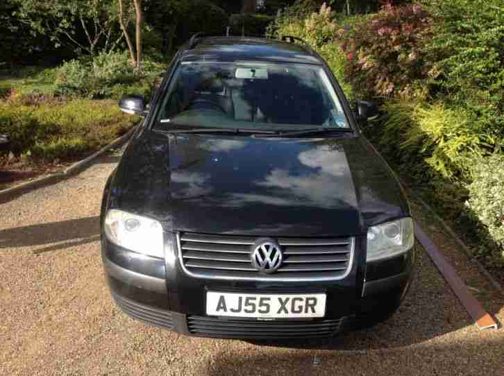 volkswagen 2005 passat trendline tdi 130 black car for sale. Black Bedroom Furniture Sets. Home Design Ideas
