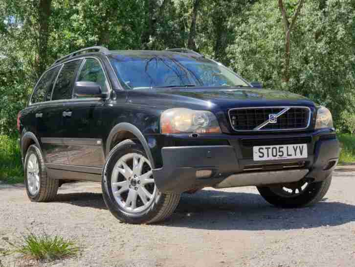 2005 VOLVO XC90 2.4TD D5 (163BHP) AWD GEARTRONIC SE AUTOMATIC DIESEL 7 SEATS