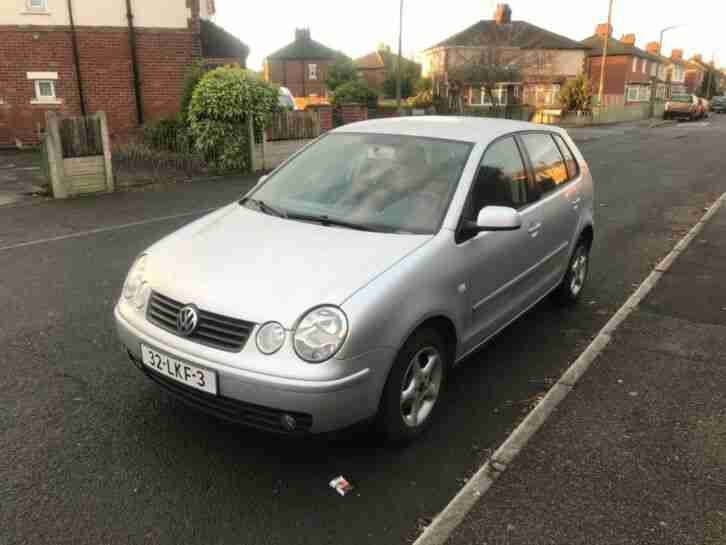 2005 VW polo, 1.4 petrol, 5 door manual, LHD, Left hand drive, Low mileage