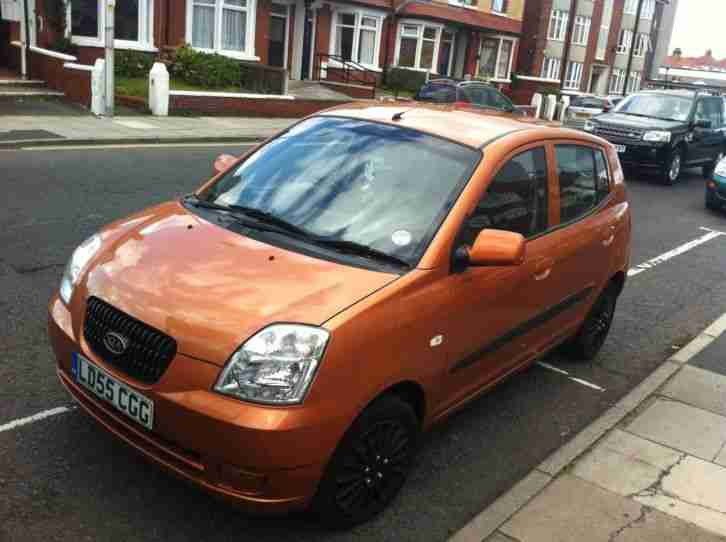 2005 picanto 1.0 Gs Taxed and mot Low tax