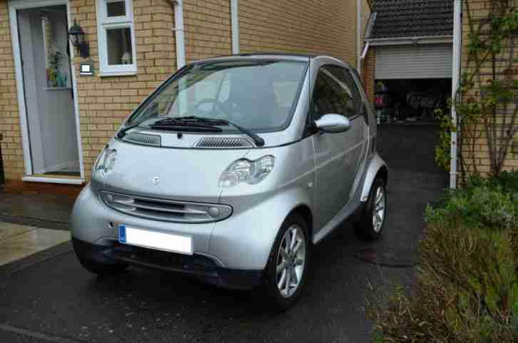 Smart 2005 Fortwo Passion Cabrio Convertible Silver Silver Car For Sale