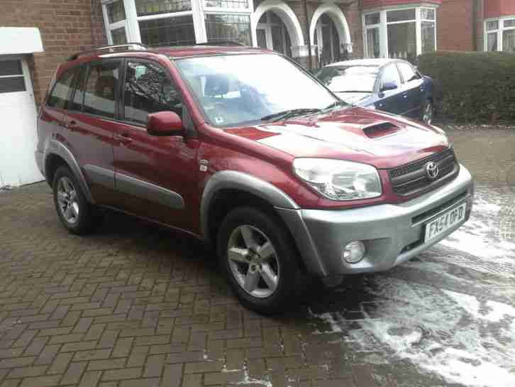 Toyota RAV4. Toyota car from United Kingdom
