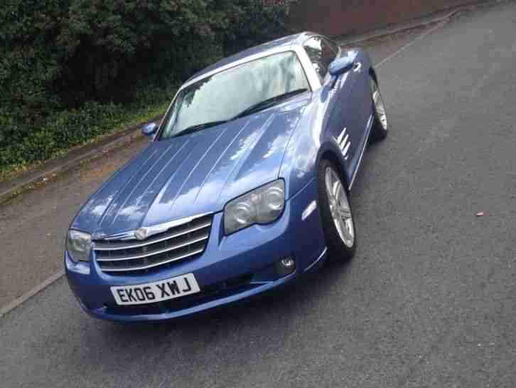 2006/06 CHRYSLER CROSSFIRE BLUE 6 SPEED MANUAL