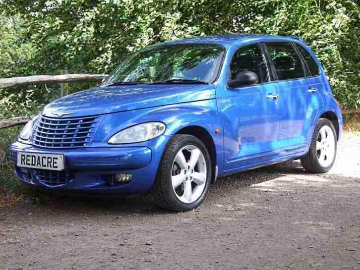 chrysler 2006 06 pt cruiser 2 4 gt blue metallic car for sale. Black Bedroom Furniture Sets. Home Design Ideas