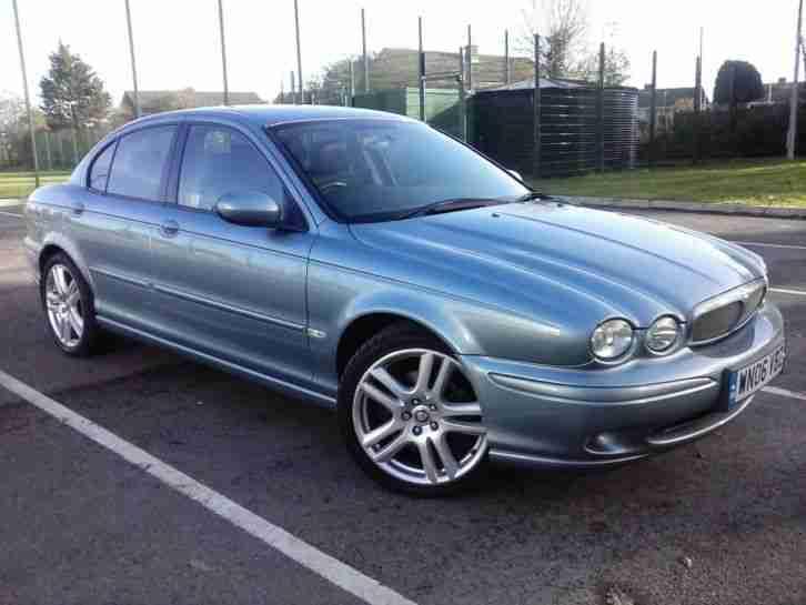 Jaguar 2006 06 X Type V6 Sport Rare Baby Blue Stunning
