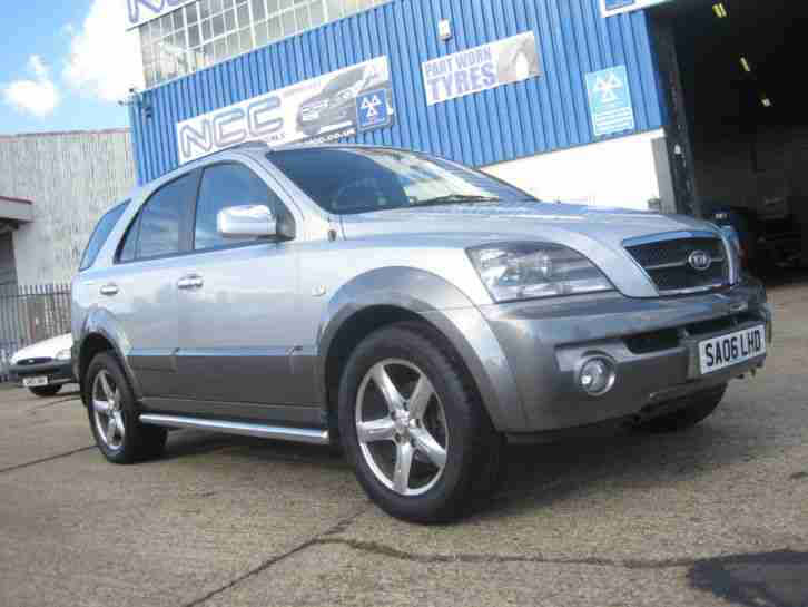 2006 06 KIA SORENTO 2.5 CRDi XT AUTOMATIC LOW RATE FINANCE AVAILABLE