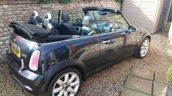 mini 2006 06 cooper 1 6 convertible with chilli pack car for sale. Black Bedroom Furniture Sets. Home Design Ideas