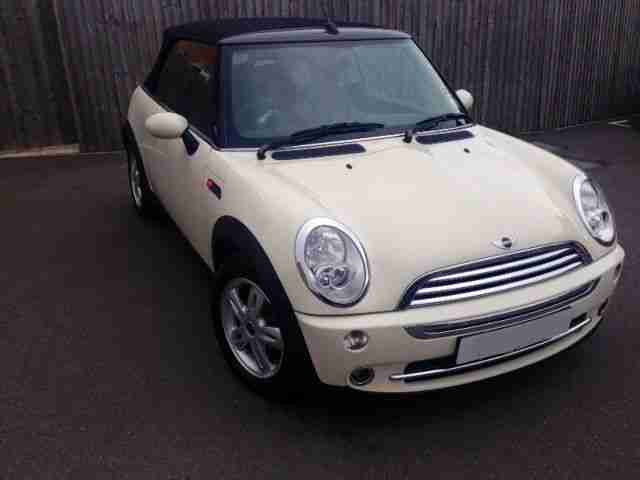 2006 (06) One 1.6 Convertible Pepper