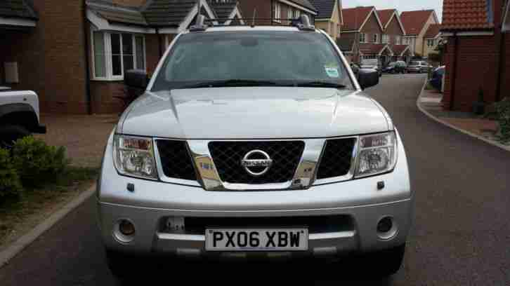 2006 06 NISSAN NAVARA 2.5 DCi OUTLAW DOUBLE CAB PICK-UP NO VAT!!