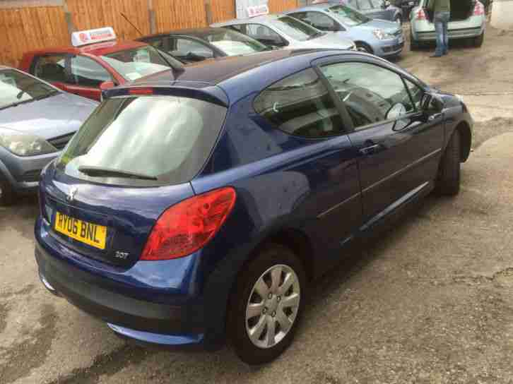 2006 06 PEUGEOT 207 1.4 16V 90 S 3 DOOR.NICE LOW MILEAGE EXAMPLE.JUST 51000.....