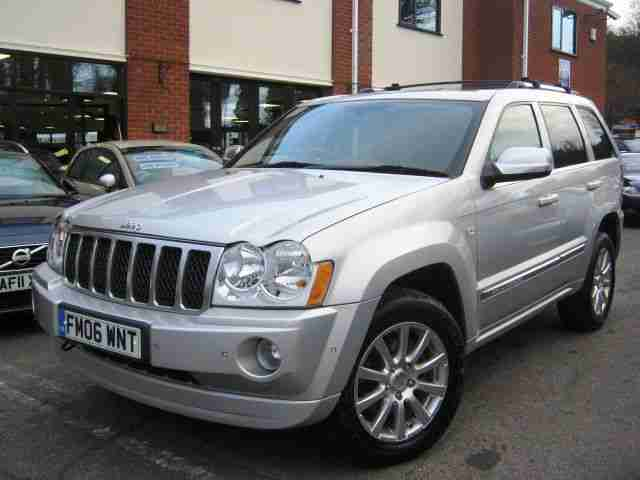 jeep 2006 06 reg grand cherokee 3 0crd v6 auto overland. Cars Review. Best American Auto & Cars Review