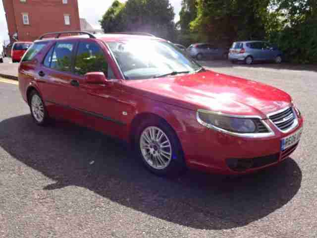 Saab 06. Saab car from United Kingdom