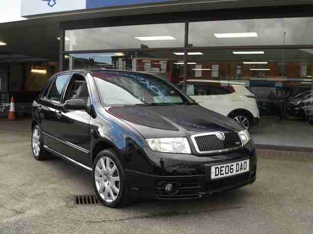 skoda 2006 06 fabia 1 9 vrs tdi 5d 129 bhp diesel car for sale. Black Bedroom Furniture Sets. Home Design Ideas