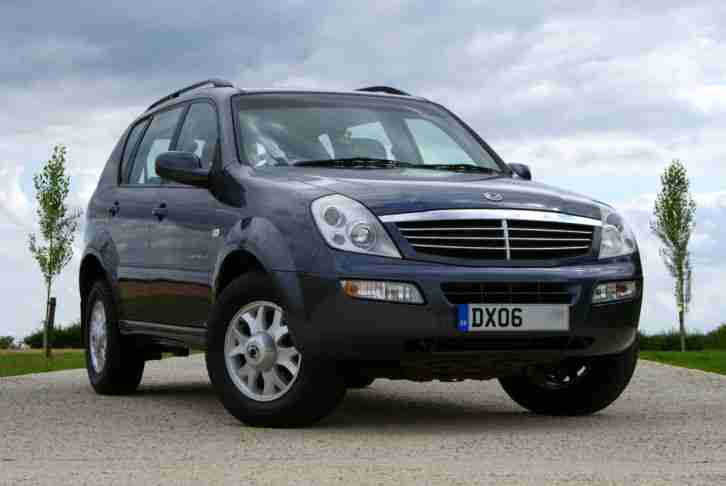 Ssangyong 06. Ssangyong car from United Kingdom