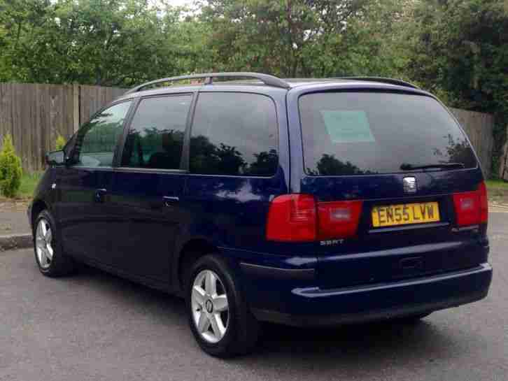 2006/55 SEAT ALHAMBRA 1.9 TDI 7 SEATER DIESEL AUTO (like Ford Galaxy VW Sharan)