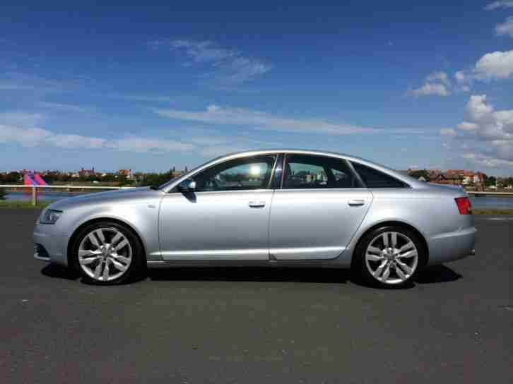 audi 2006 56 s6 5 2 v10 quattro 4 dr saloon silver car for sale. Black Bedroom Furniture Sets. Home Design Ideas