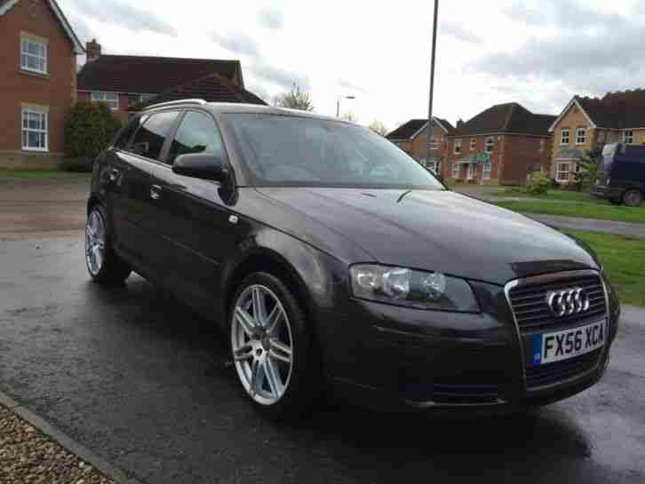 audi 2006 56 a3 5dr1 9 tdi sportback rs4 alloys long mot cheapest on. Black Bedroom Furniture Sets. Home Design Ideas