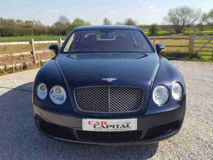 2006/56 BENTLEY CONTINENTAL FLYING SPUR 6.0 MULLINER FBSH, MASSIVE SPEC