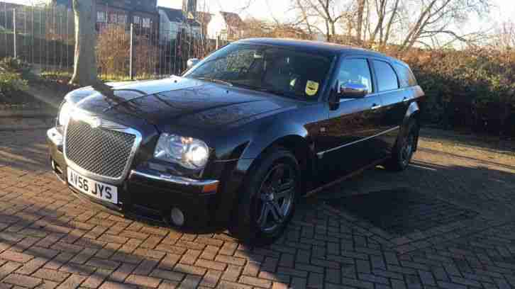 2006 56 CHRYSLER 300c ESTATE BLACK 3.0 CRD TURBO DIESEL AUTOMATIC FULL MOT 145k