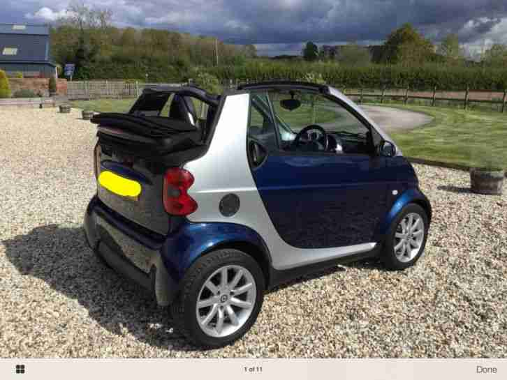 2006 (56) CITY SMART PASSION 61 AUTO CONVERTIBLE. 700CC , VERY NICE CONDITION.