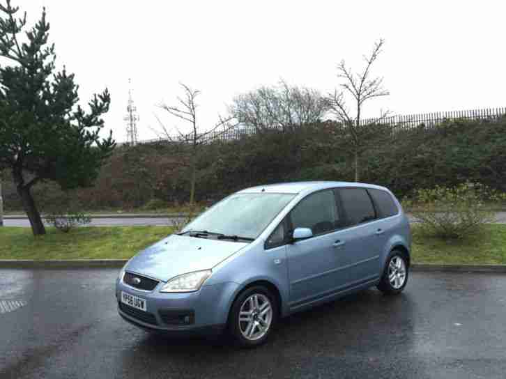 2006/56 Ford Focus C-MAX 2.0 auto Zetec 5 Door Mpv Blue