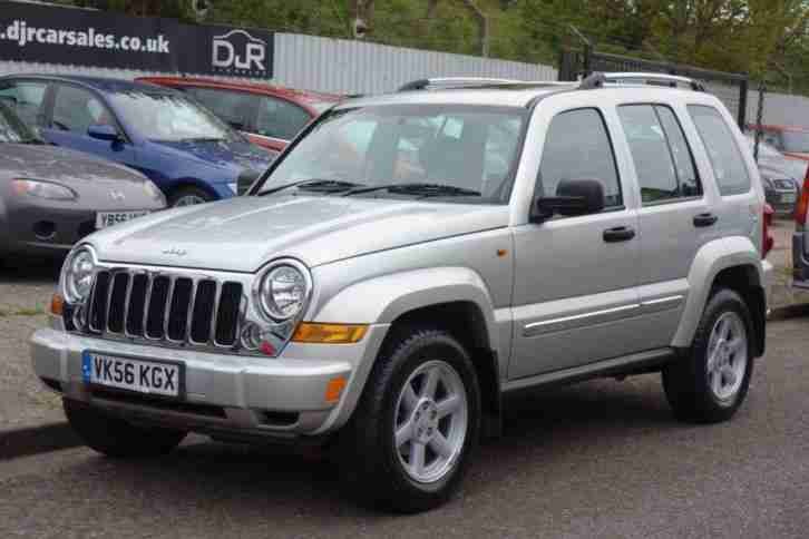 2006 56 CHEROKEE 2.8 LIMITED CRD 5D AUTO