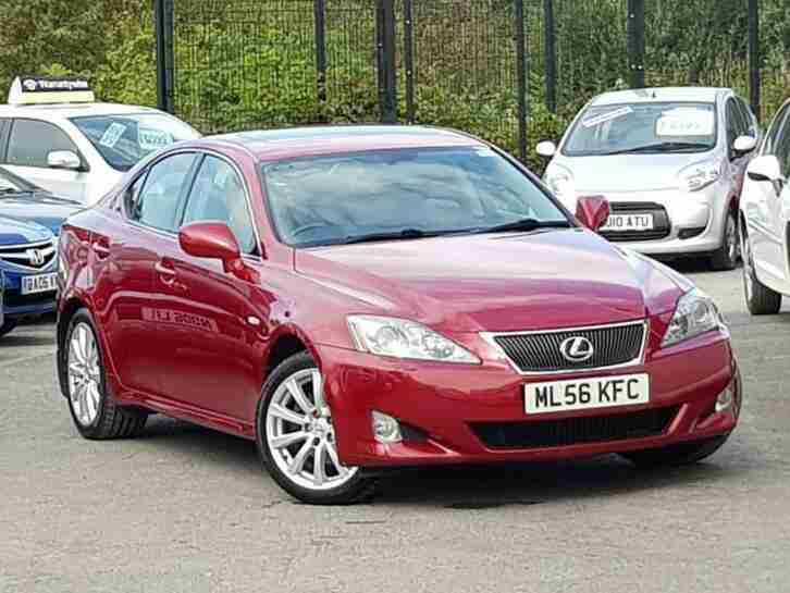 2006 56 LEXUS IS 2.5L 250 SE-L 4D AUTO 204 BHP