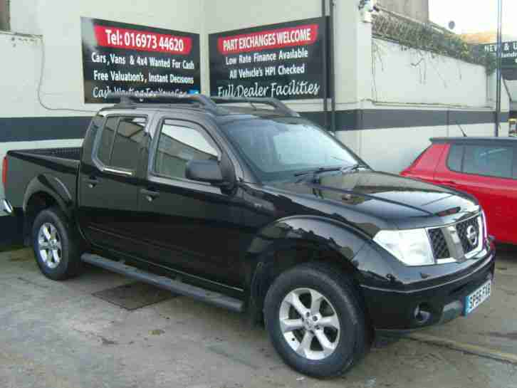 2006/56 NISSAN NAVARA 2.5 DCI OUTLAW CREW CAB PICK UP NO VAT FOR SALE