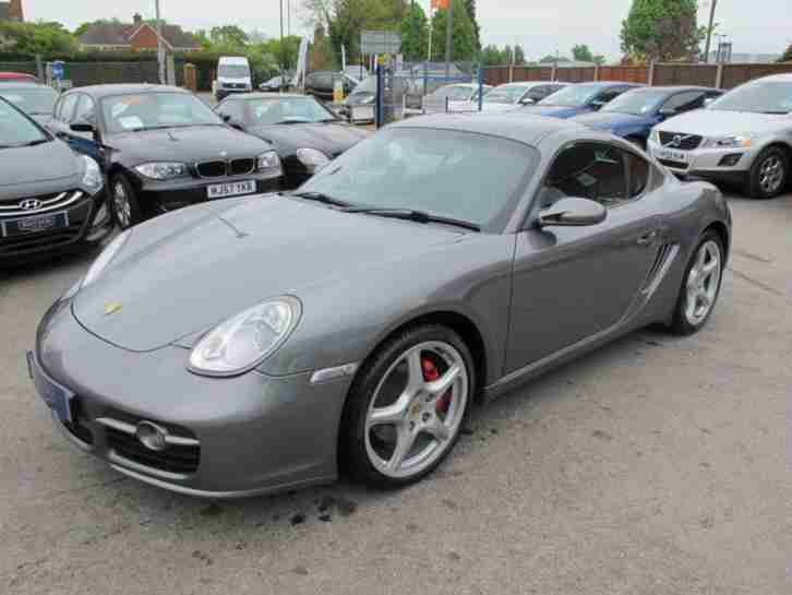 2006 56 PORSCHE CAYMAN 3.4 24V S 2D 295 BHP LOVELY CONDITION , FULL LEATHER , FU
