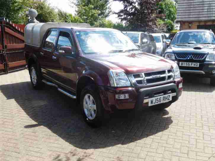 2006 56 Reg Isuzu Rodeo 2.5 TD Denver Max Manual