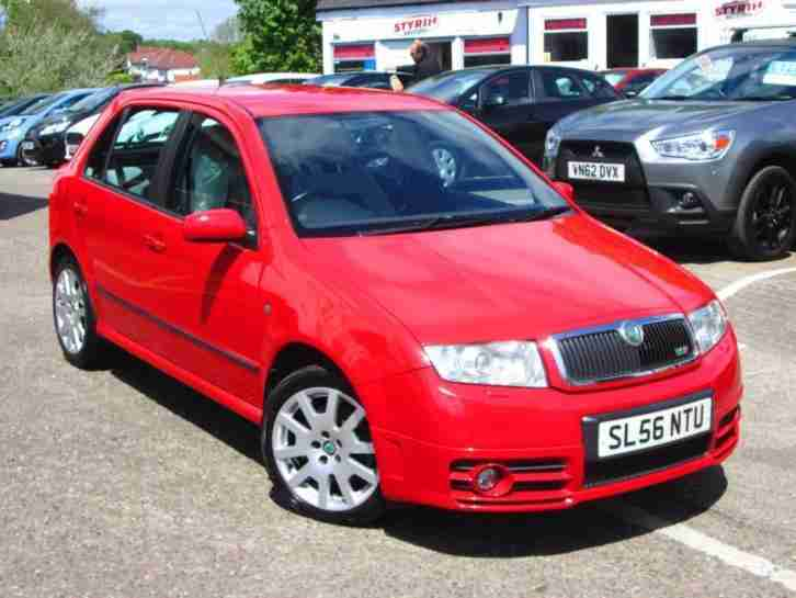 skoda 2006 56 fabia 1 9 vrs tdi 5d 129 bhp diesel car for sale. Black Bedroom Furniture Sets. Home Design Ideas