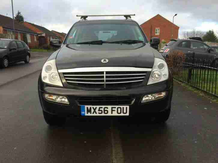 2006 56 SSANGYONG REXTON 2.7 XDI DIESEL LOW MILES NEW TYRES DVD S/H 4 X 4