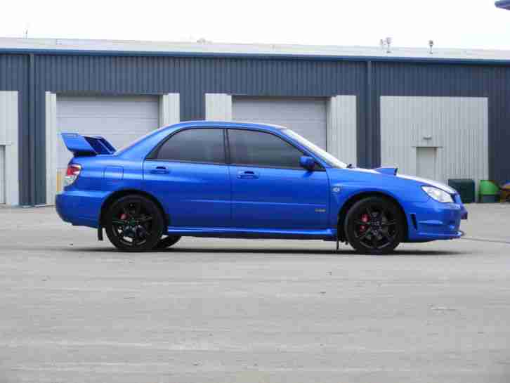 2006 56 SUBARU IMPREZA 2.5 WRX TURBO , WORLD RALLY BLUE, CAMBELT CHANGED !!