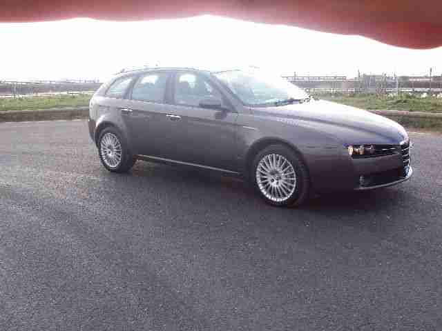 alfa romeo 2006 159 lusso jtdm s wagon grey 2 4 diesel 6 speed manual. Black Bedroom Furniture Sets. Home Design Ideas