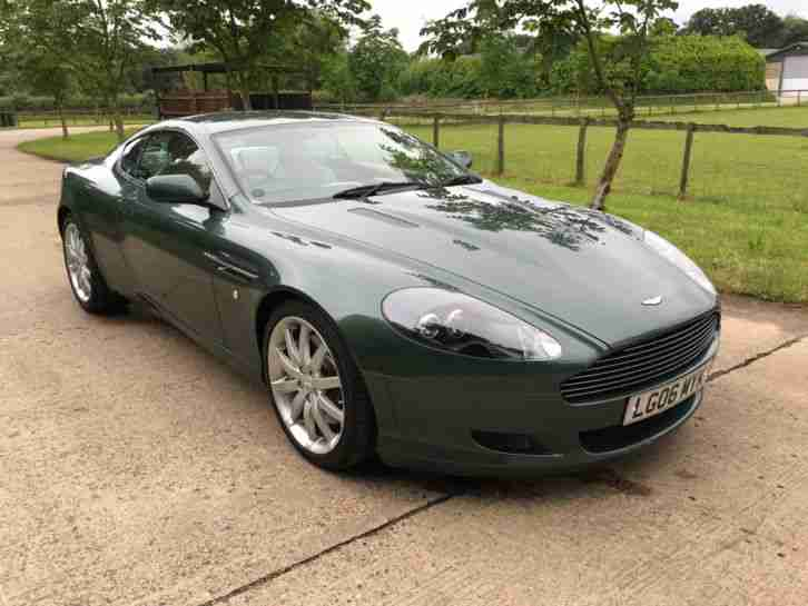 Aston Martin 2006 DB9 MANUAL RACING GREEN MAGNOLIA 32K