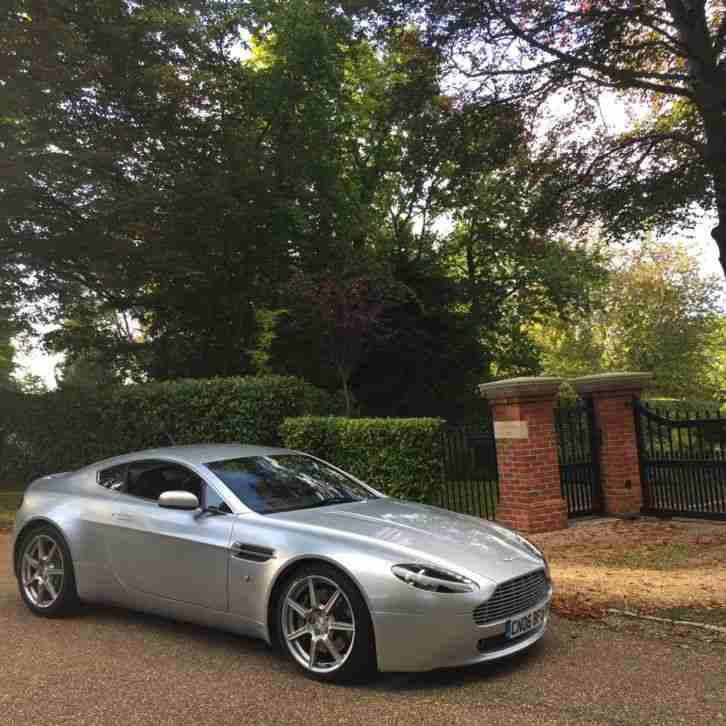 2006 ASTON MARTIN V8 VANTAGE, 2 OWNERS, YEARS MOT, FULL HISTORY, STUNNING CAR
