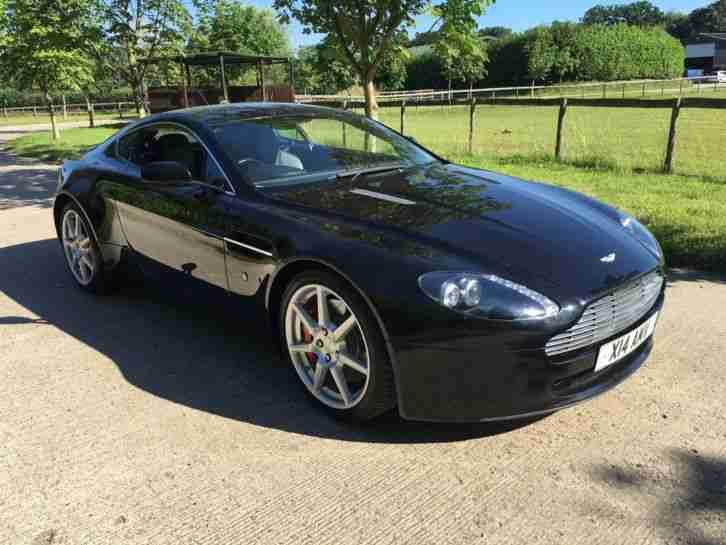 Aston Martin 2006 VANTAGE V8 BLACK BLACK 32K MILES FAMSH