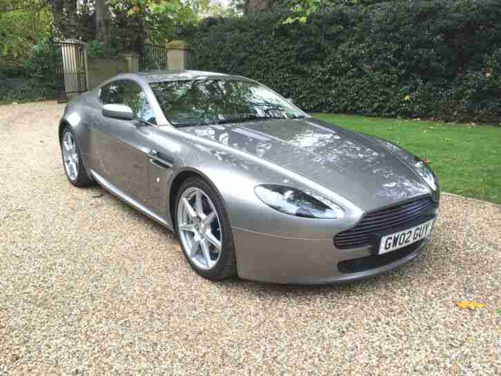 Aston Martin 2006 Vantage V8 Tungsten Silver With Only