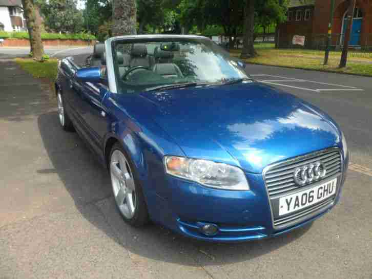 Audi 2006 A4 Convertible 18t 18 Inch Alloys Leather Heated Seats