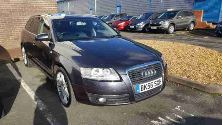2006 A6 SE TDI GREY AUTO ESTATE LOW