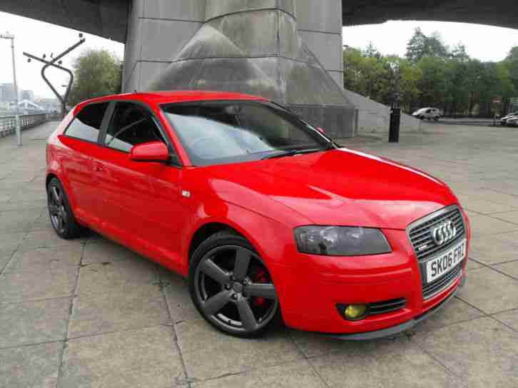 Audi 2006 A3 2 0 Tdi Quattro S Line Two Previous Owner