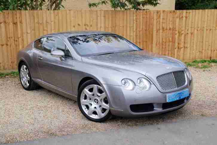2006 BENTLEY CONTINENTAL 6.0 GT 2dr Auto