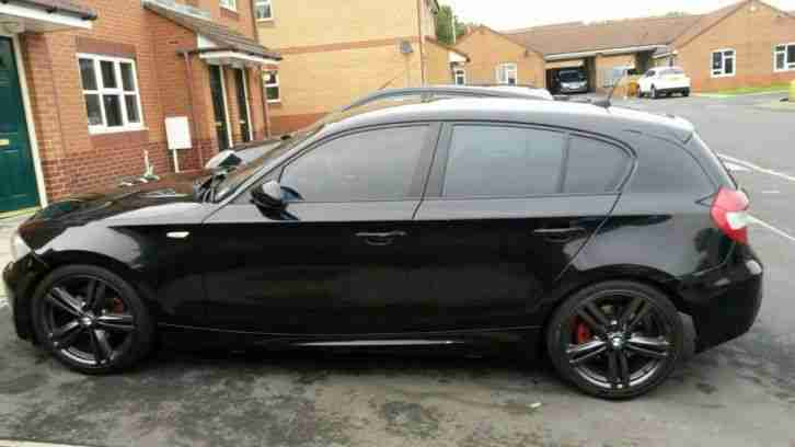 bmw 2006 120d m sport black full electric pack top spec model car for sale. Black Bedroom Furniture Sets. Home Design Ideas