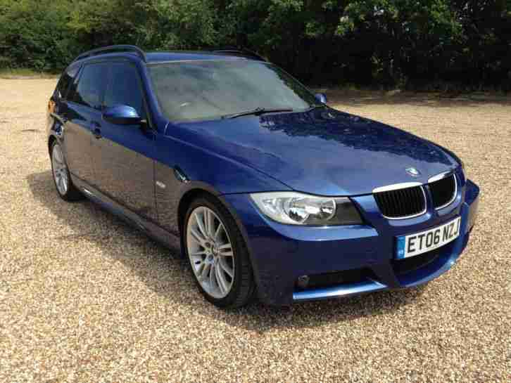 2006 BMW 318 I M SPORT TOURING BLUE