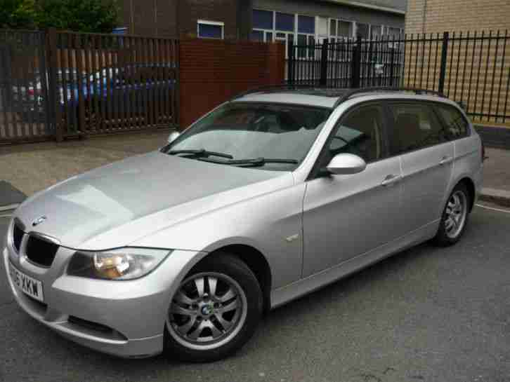 BMW 2006 320D ES TOURING AUTO SILVER 115000 Miles Panoramic Sunroof