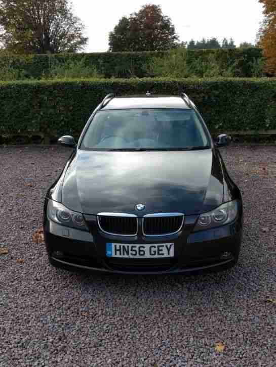 BMW 2006 320D SE TOURING MANUAL IN SAPPHIRE BLACK LEATHER INTERIOR