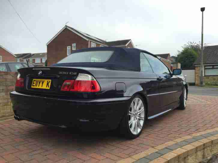 2006 BMW 330 CD CONVERTIBLE MSPORT