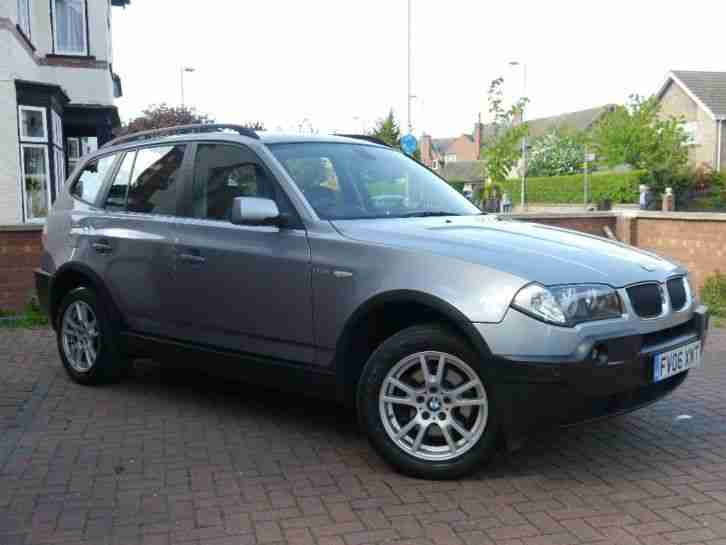 BMW X3. BMW car from United Kingdom